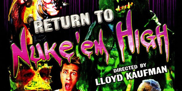 Teaser póster de Return to Nuke 'Em High