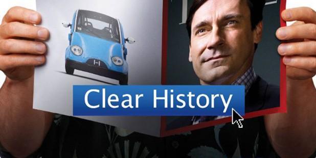 Teaser póster de Clear History