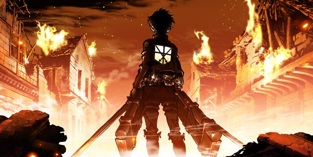Teaser póster de Attack on Titan