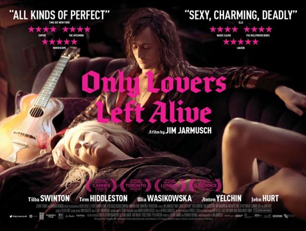 Póster de Only Lovers Left Alive