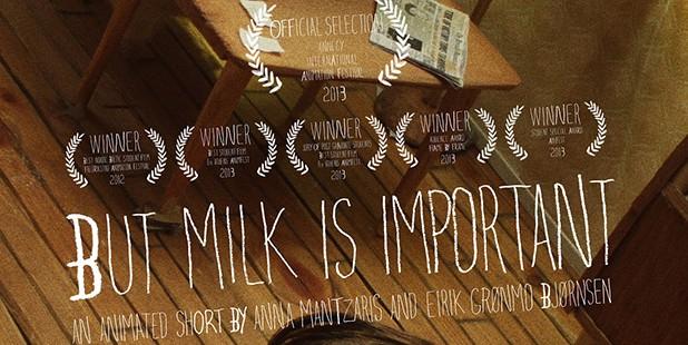 Póster de But Milk Is Important