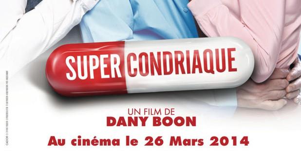 Teaser póster de Supercondriaque