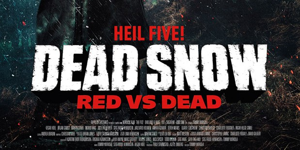 Póster internacional de Dead Snow 2