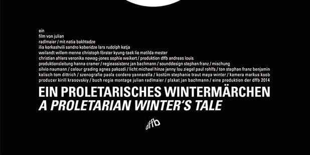 Póster de A Proletarian Winter's Tale