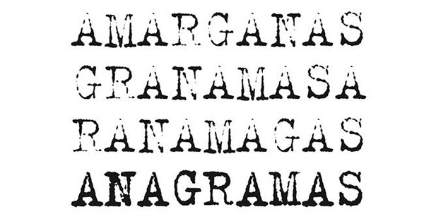 Anagramas-poster