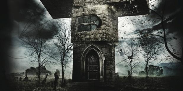 Teaser póster de The Borderlands