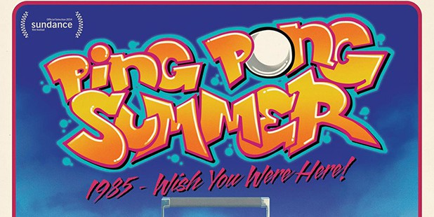 Póster de Ping Pong Summer