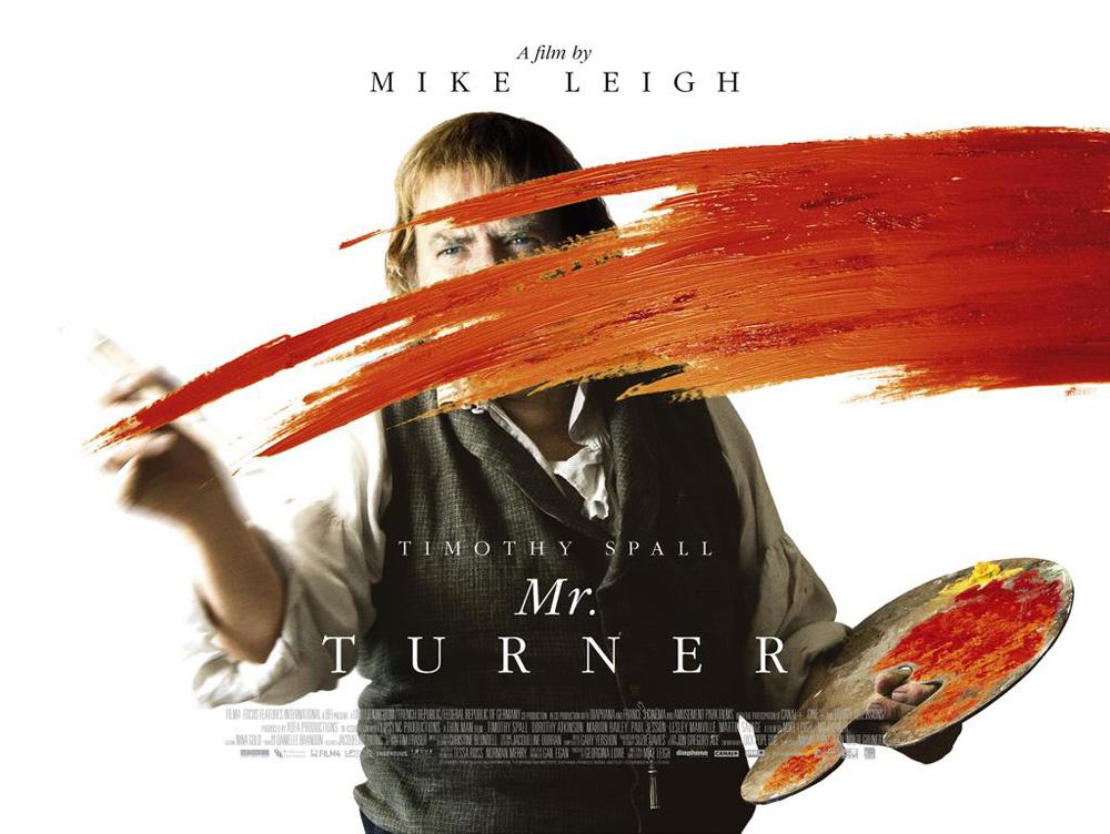 Póster de Mr. Turner