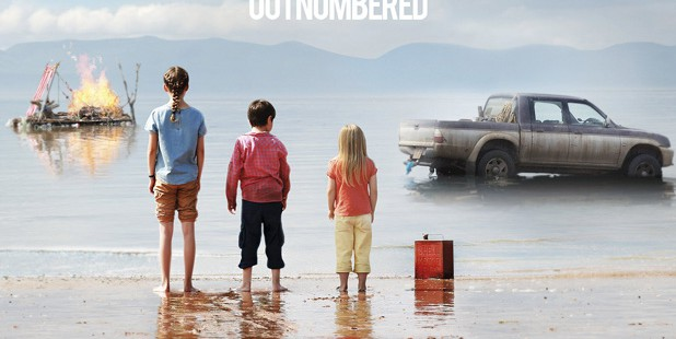 Teaser póster de What We Did On Our Holiday