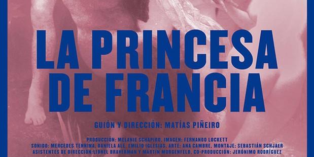 Póster de La princesa de Francia