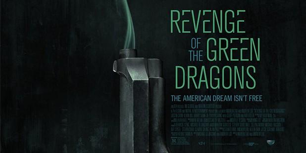 Póster de Revenge of the Green Dragons-poster