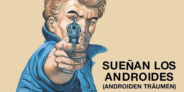 Póster de Sueñan los androides
