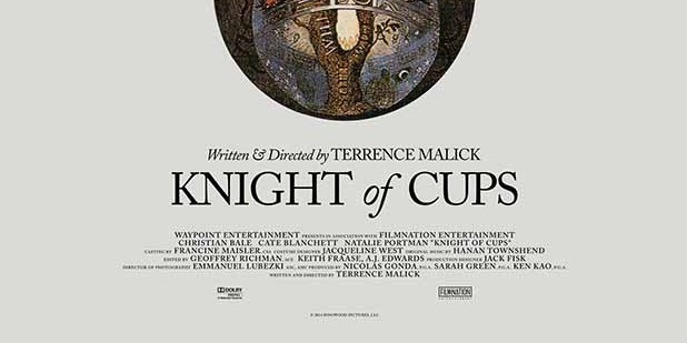 Póster de Knight of Cups