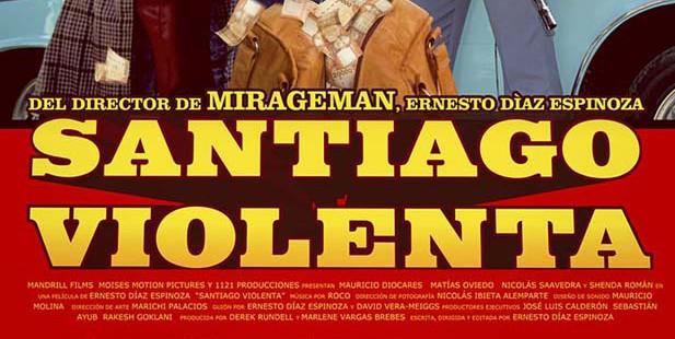 Póster de Santiago violenta