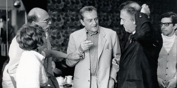 Francesco Rosi & Luchino Visconti