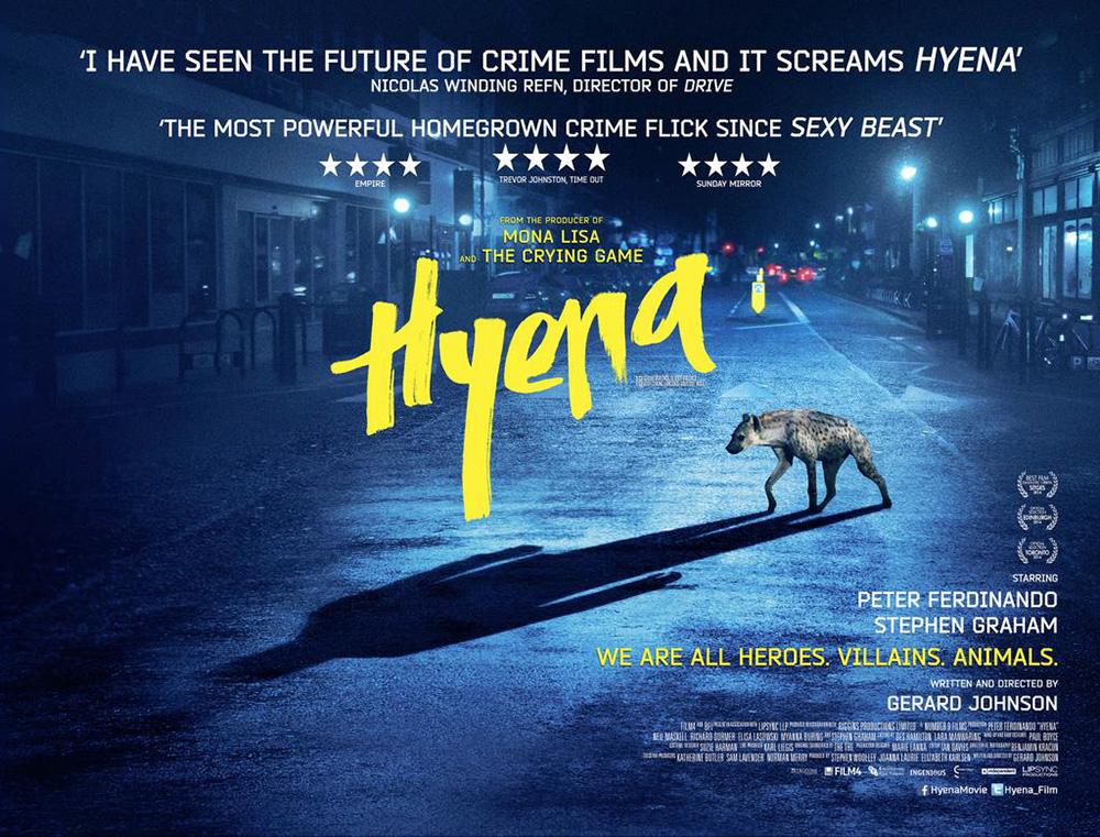 Póster UK de Hyena