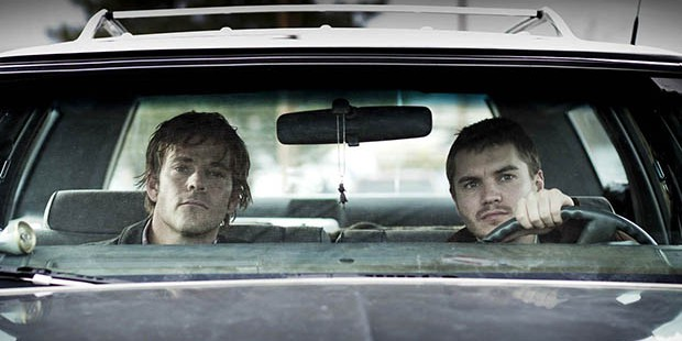 Stephen Dorff and Emile Hirsch in The Motel Life (photo by.jpg