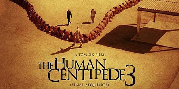 Poster The Human Centipede-recorte