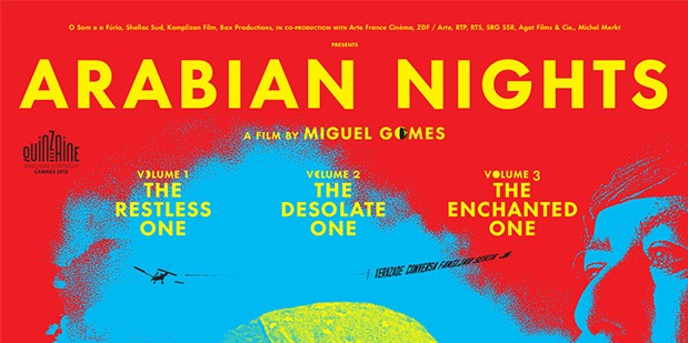Póster de As 1001 Noites (Arabian Nights)