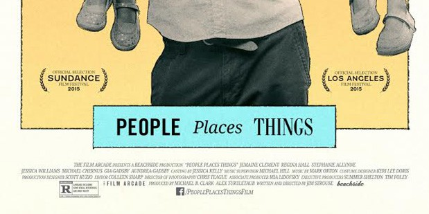 Póster de People, Places, Things