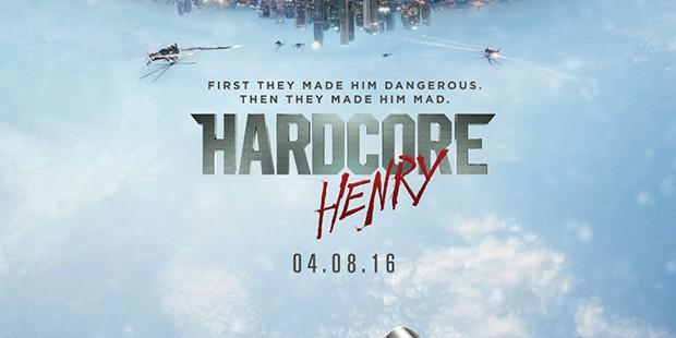 Teaser póster de Hardcore Henry