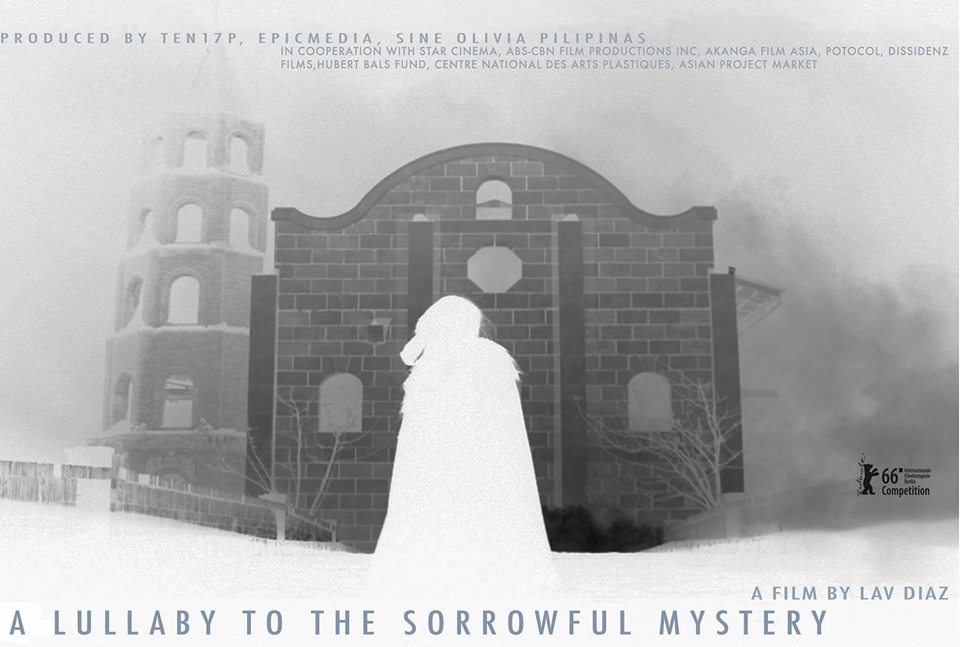 Póster de A Lullaby to the Sorrowful Mystery