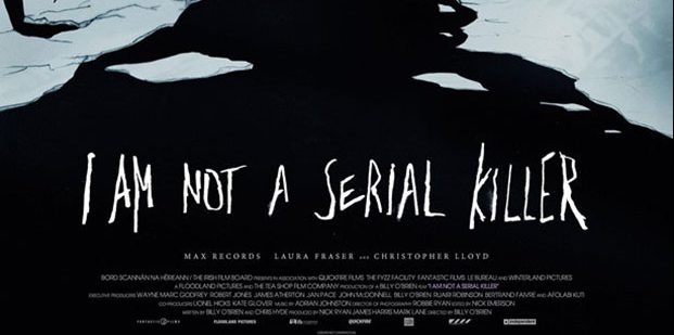 Póster de I Am Not a Serial Killer