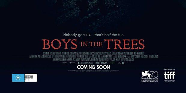 Póster de Boys in the Trees