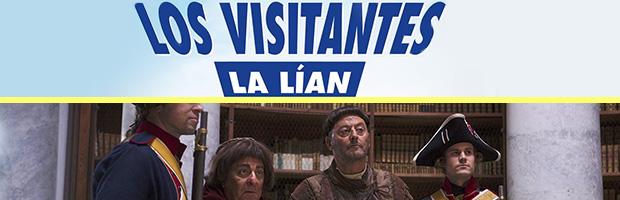 Los visitantes la lian-estreno