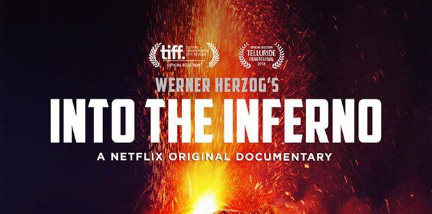Póster de Into the Inferno