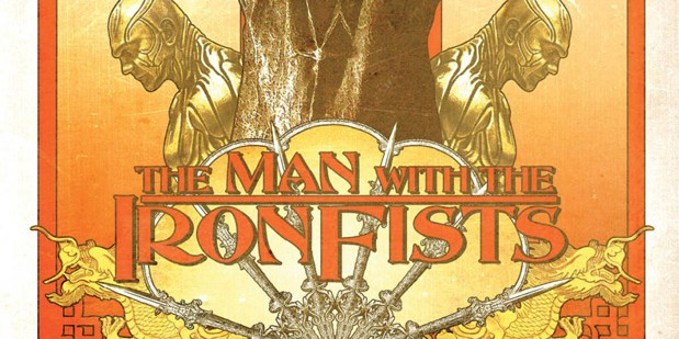 Teaser póster de The Man With the Iron Fists