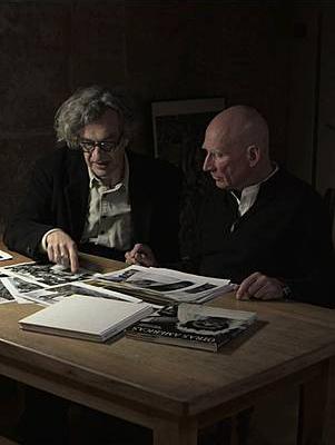 Wim Wenders junto a Sebastião Salgado