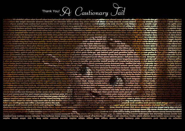Póster quad de A Cautionary Tail