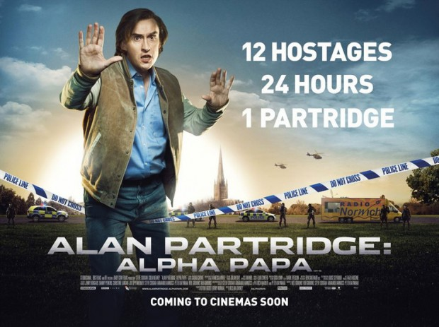 Póster de Alan Partridge: Alpha Papa