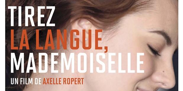 tirez la langue mademoiselle-poster