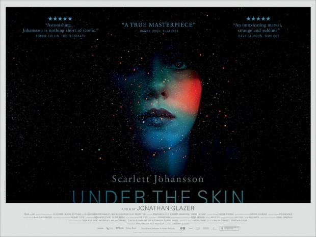 Póster de Under the Skin