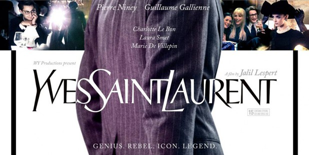 Póster internacional de Yves Saint Laurent
