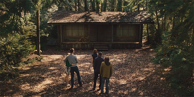 Escena de La cabaña en el bosque