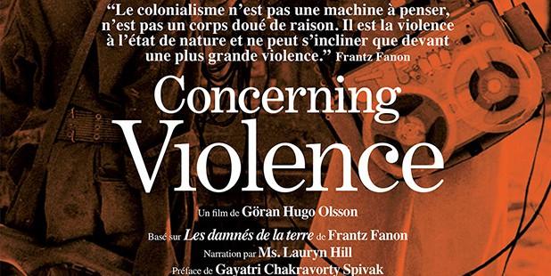 Póster de Concerning Violence