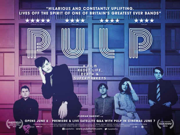 Póster de Pulp: a Film about Life, Death & Supermarkets