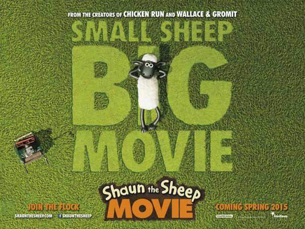 Teaser póster de Shaun the Sheep