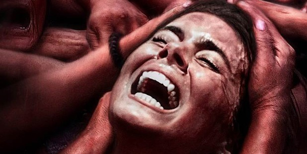 Teaser póster de The Green Inferno