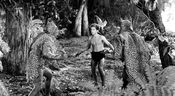 Tarzán y la mujer leopardo