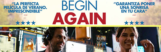 Begin Again-estreno