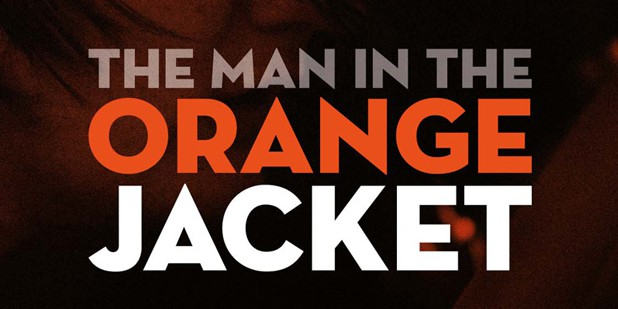 Póster de The Man in the Orange Jacket