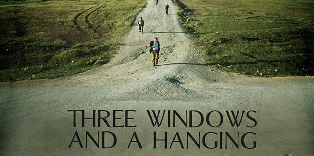 Póster de Three Windows and a Hanging