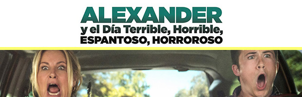 Alexander y el dia terrible horrible espantoso horroroso-estreno