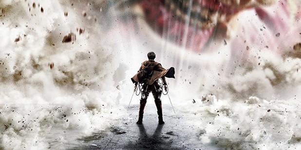 Teaser póster de Attack on Titan