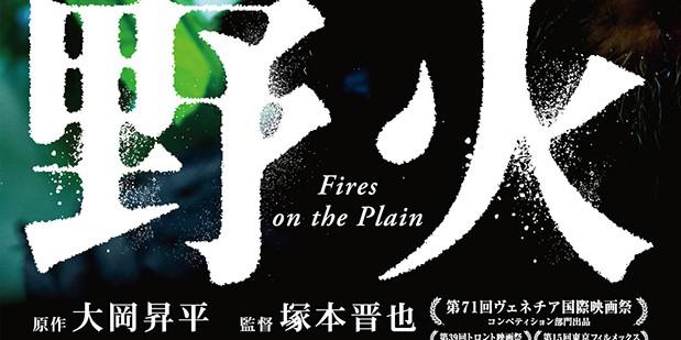Póster de Fires on the Plain