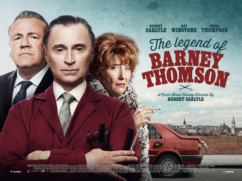 Póster de The Legend of Barney Thomson